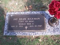 """Jay Dean """"J D"""" Rickman"""