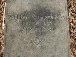 William Wiley Barron, Sr