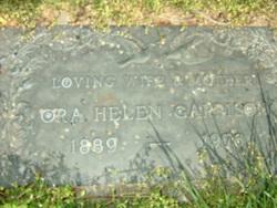 Ora Helen <I>Whitaker</I> Garrison