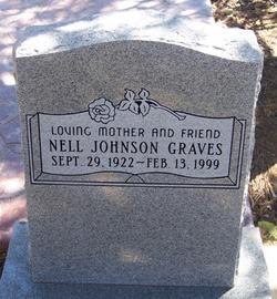 Jamima Nell <I>Johnson</I> Graves