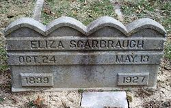 Eliza <I>Booth</I> Scarbrough
