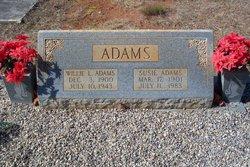 "Susan M ""Susie"" <I>Morris</I> Adams"