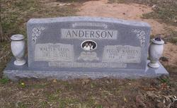 Peggy Nell <I>Warren</I> Anderson