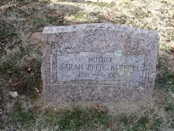 Sarah Effie <I>Oare</I> Kimbrel