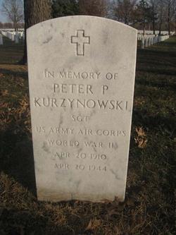 Sgt Peter P. Kurzynowski