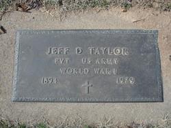 Jeff Davis Taylor