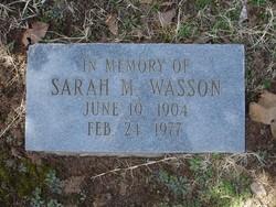 Sarah M. Wasson