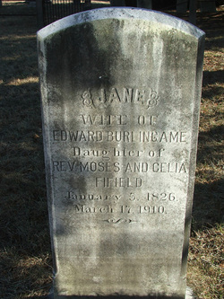 Jane <I>Fifield</I> Burlingame