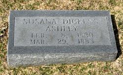 Susana <I>Dickens</I> Ashley