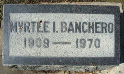 Myrtle Irene <I>Tillotson</I> Banchero