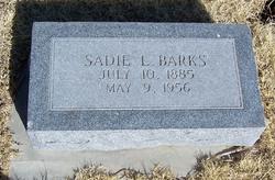 Sadie L. Barks