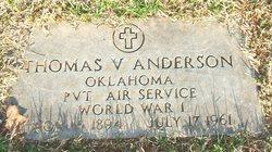 Thomas V Anderson