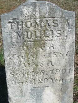 Thomas A Mullis