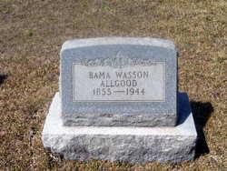 """Alabama """"Bama"""" <I>Wasson</I> Allgood"""