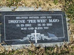 """Dwayne """"PeeWee"""" Mayo"""