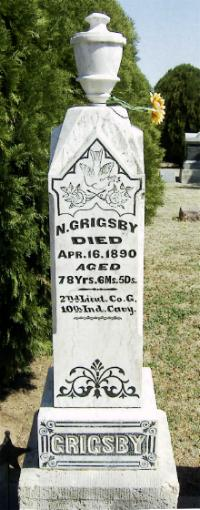 "Lieut Nathaniel ""Natty"" Grigsby"