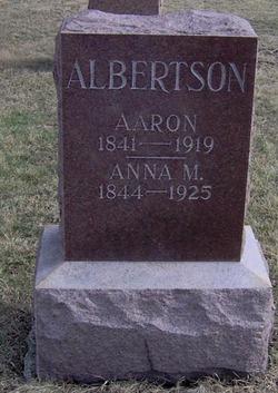 Anna M. <I>Holliday</I> Albertson