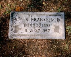 Dr Roy Rachford Kracke