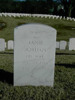 Janie Margaret <I>Jordan</I> Finch