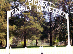 Pickett Family Cemetery