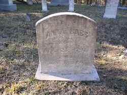 Anna <I>Crabtree</I> Babb
