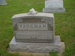 """John W """"Bob"""" Vaughan"""