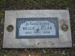 """Nellie J. """"Nell"""" <I>Wright</I> Allen"""