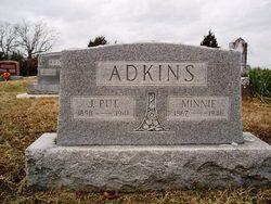 Minnie E. <I>Franklin</I> Adkins