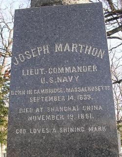 LCDR Joseph Marthon