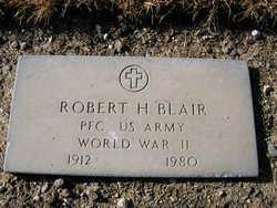 Robert H Blair