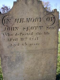 John Scott, Sr
