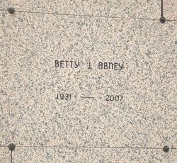 Betty Jean <I>Slayton</I> Abney