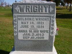 Anna Mariah <I>Roberts</I> Wright