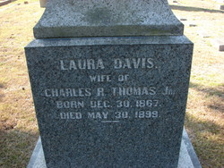 Laura Pasteur <I>Davis</I> Thomas