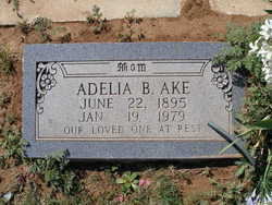 Adelia Beatrice <I>Sellers</I> Ake