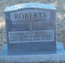 Rufus A Roberts