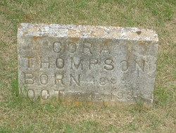 Cora <I>Gillihan</I> Thompson