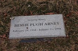 Bessie <I>Pugh</I> Abney