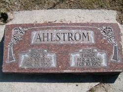 "Roselia ""Rose"" <I>Riggs</I> Ahlstrom"
