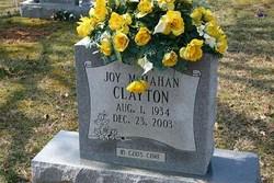 Joy <I>McMahan</I> Clayton
