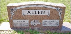 Edna Ramona <I>Harris</I> Allen