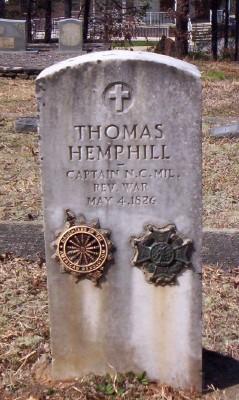 Capt Thomas Hemphill