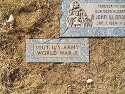 """John William """"JW"""" Anderson, Jr"""