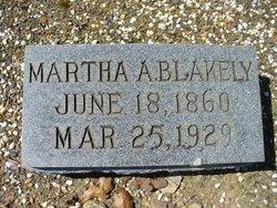 Martha Ann <I>Ingersoll</I> Blakely