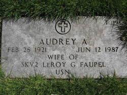 Audrey A Faupel