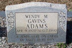 Wendy Marie <I>Gavins</I> Adams