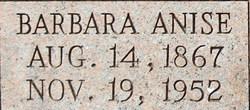 Barbara Anise <I>Morgan</I> Aubuchon