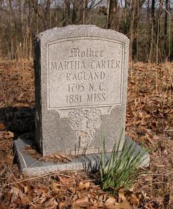 """Martha """"Patsy"""" <I>Carter</I> Ragland"""