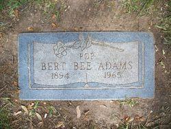 Bert Bee Adams