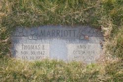 Thomas E Marriott